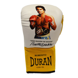 Roberto Duran Signed Custom Boxing Glove