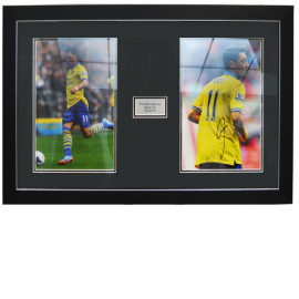 Mesut Özil Framed Signed Photo