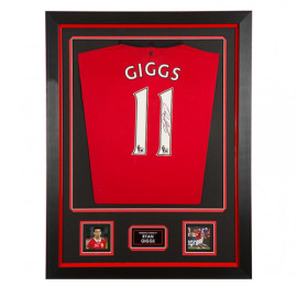 Ryan Giggs Framed Signed Manchester United Shirt