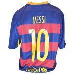 Lionel Messi Signed Barcelona Shirt